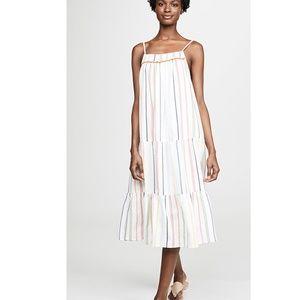 NWT dRA Gisela Dress Large Boho Tiered Sleeveless